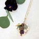 pendant necklace ◍grape3