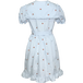 CHERRY SAILOR DRESS  BLUE チェリーセーラードレス ブルー(予約商品 7月中旬 ORDER delivery in mid-July)