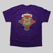 【蛙×薔薇】 オリジナルデザインTシャツ Purple