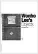 イ・ウォノのオブジェクト / Wonho Lee's Objects