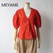 MEYAME/メヤメ・Round Sleeve Blouse