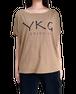 【YKG】ドルマン トップス【ブラウン】【新作】イタリアンウェア《W》
