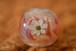 立体白華のとんぼ玉