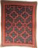 シピボ族の手刺繍 カフェマット 18x23cm