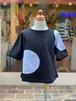 KIDS:ZoZIO【ゾジヲ】Dots stamp tops/black(M/100〜110cm,L/120〜130cm)Tシャツ