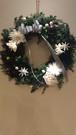 リース*Christmas wreath-monotone-