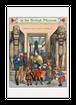 ロンドンの博物館のポストカード