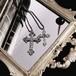 ゴスロリ系 ネックレス ゴシック ダークゴシック クロス 十字架 病みかわいい アクセサリー