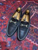 .GUCCI LEATHER HORSE BIT LOAFER MADE IN ITALY/グッチレザーホースビットローファー 2000000048680