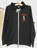 """"""" Bay Side Rollers """" french terry ZIP PARKA"""
