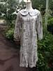 今年最初の長袖バックリボンスタイルは、クールなパリジェンヌ風丸襟ワンピース。一点物