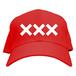 ERICH / XXX LOGO CAP RED