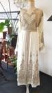 エジプト製ドレス 豪華刺繍入り