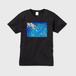 「滲む頃」メンズVネックTシャツ