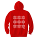 ERICH / NINTH HEXAGRAM HOODED SWEATSHIRT RED