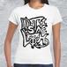 ストリートロゴTシャツ/レディースホワイト*Distinclothオリジナル