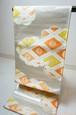 正絹 袋帯 菊紋 金銀 020