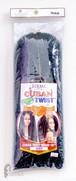 "Cuban Twist - 16"":  Twist Braid (Teal Blue)"