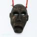 伝来ビーズの人面ヘッドのナガ族のネックレス 0105-VG29
