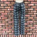 1990s Deadstock Pacino Tartan Slim Fit Jeans Made In England 11