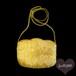 ゴールド ミニビーズバッグ ポシェット