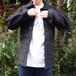 フランス ワークジャケット 黒モールスキン size36