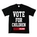 VOTE FOR CHILDREN(T-SHIRT) ブラック(レッド)