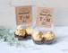 サンキューギフトタグ 二つ折りタグ 花嫁DIY 32枚セット【gift_tag_001】