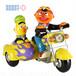 セサミストリート バート&アーニー オートバイ
