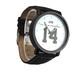 白★モノトーン腕時計 シンプルなデザインなのにおしゃれ♪