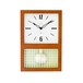 CHAMBRE GLASS PENDULUM CLOCK  【CAFE BROWN】