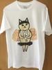 [黒鳥天使猫] Tシャツ_在庫限りM/S
