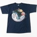 90's print T-shirts  THE HISTORY OF SPACE FLIGHT