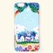 【受注生産】「ヤギの親子」カバー型 iPhoneケース
