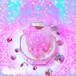 メルティねこちゃん肉球リング♪(ピンク☆サックス)
