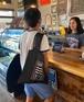 【SURFERS COFFEE】ポケッタブルエコバッグ / サーファーズコーヒー / ハワイアン / カフェ