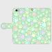 スマホケース(iPhone・Android対応)  【肉球柄グリーン】