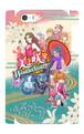 スマホケース『美よ咲きWonderland』iphone5/5S/SE用