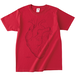 FLAVOUR OF ISLAY TOUR Tシャツ(心臓・Red)