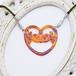 【送料無料】グラスホルダー「ハングウェル」 蔦の透かし・琥珀色・銀パーツ AAam-s メガネをかけるアクセサリー