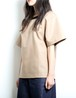 Ring T-Shirts (Beige) (Lady's size)