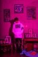 パーカー/ホワイト【skeles me dop headz LONDON】