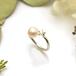 《受注制作》 #12〜#17 Star pearl ring/ SV925 /