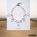 TRANSPARENT TUAREG NECKLACE SHORT #pink [VTAC-SS18008]