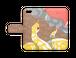 【手帳型iPhoneケース】チョコレプタイルズ(アミメニシキヘビ)