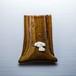 シーズーがワンポイントの陶器のペンスタンド