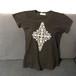 【海外土産】ビーズTシャツ5黒(タイ)◆送料無料