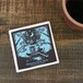 120.石盤吸水コースター/沖縄妖精物語「イモノハdeクルーズ」
