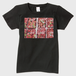 Strawberry Fields Forever横位置Tシャツ黒レディース Tシャツ レディース 黒 レディース Sサイズ トナー熱転写