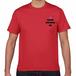 ソーシャルディスタンス Tシャツ RED